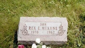 MCKUNE, REX E. - Washington County, Iowa   REX E. MCKUNE
