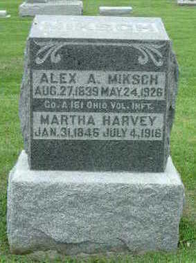 MIKSCH, ALEX A. - Washington County, Iowa | ALEX A. MIKSCH
