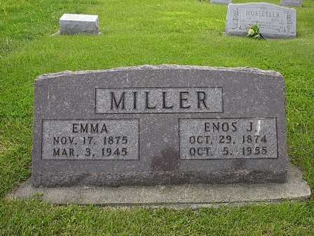 MILLER, ENOS J. - Washington County, Iowa | ENOS J. MILLER