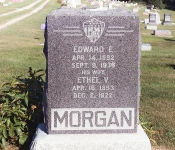 MORGAN, ETHEL V. - Washington County, Iowa | ETHEL V. MORGAN