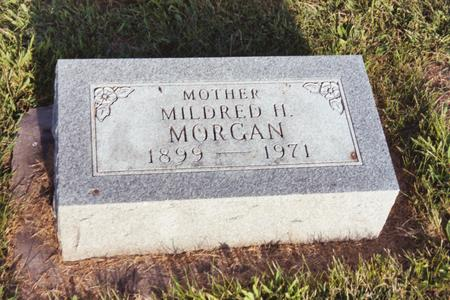 MORGAN, MIDRED H. - Washington County, Iowa | MIDRED H. MORGAN