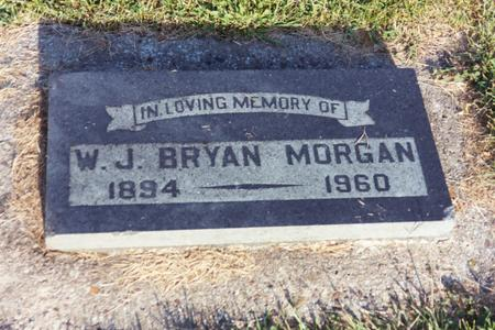 MORGAN, W.J. BRYAN - Washington County, Iowa | W.J. BRYAN MORGAN