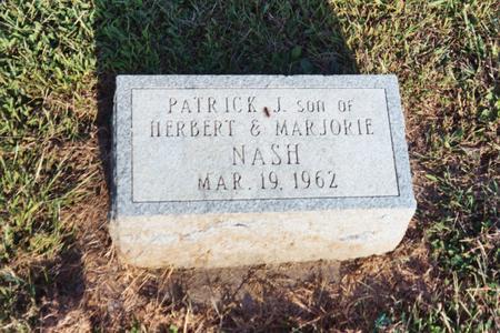 NASH, PATRICK J. - Washington County, Iowa   PATRICK J. NASH