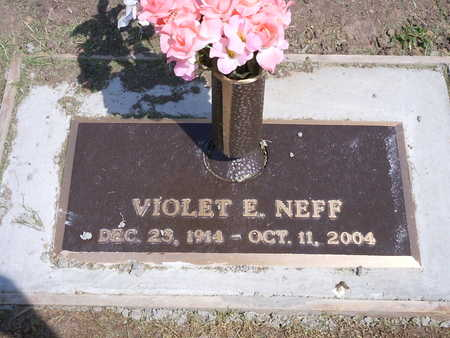 NEFF, VIOLET E. - Washington County, Iowa | VIOLET E. NEFF