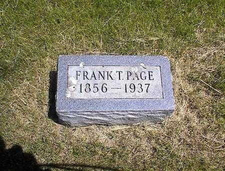 PAGE, FRANKLIN THEOPHOLIS - Washington County, Iowa | FRANKLIN THEOPHOLIS PAGE