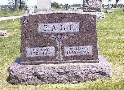 PAGE, IDA MAY - Washington County, Iowa | IDA MAY PAGE