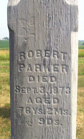 PARKER, ROBERT - Washington County, Iowa | ROBERT PARKER