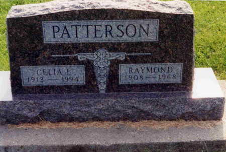 PATTERSON, CELIA I. - Washington County, Iowa | CELIA I. PATTERSON