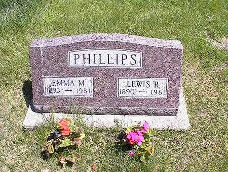 PHILLIPS, LEWIS RAY - Washington County, Iowa | LEWIS RAY PHILLIPS