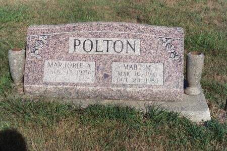 POLTON, MARTIN M. - Washington County, Iowa | MARTIN M. POLTON