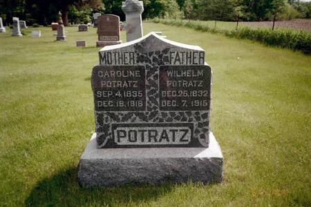 POTRATZ, WILHELM - Washington County, Iowa | WILHELM POTRATZ