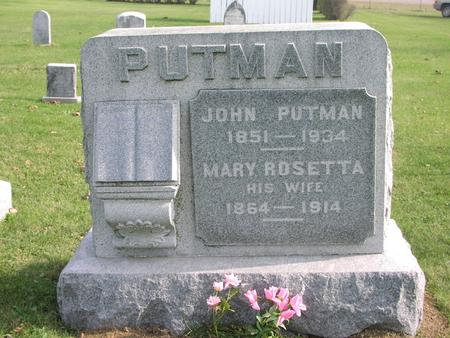 PUTMAN, JOHN - Washington County, Iowa | JOHN PUTMAN