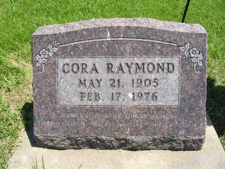 MILLER RAYMOND, CORA - Washington County, Iowa | CORA MILLER RAYMOND