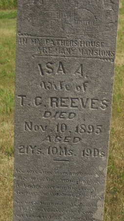 REEVES, ISA A - Washington County, Iowa | ISA A REEVES