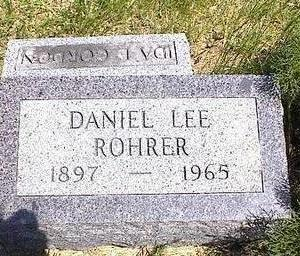 ROHRER, DANIEL LEE - Washington County, Iowa | DANIEL LEE ROHRER