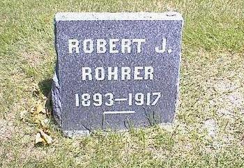 ROHRER, ROBERT JAMES - Washington County, Iowa | ROBERT JAMES ROHRER