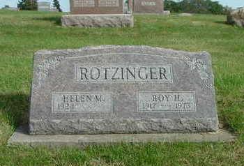 ROTZINGER, ROY H. - Washington County, Iowa | ROY H. ROTZINGER