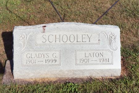 SCHOOLEY, GLADYS G. - Washington County, Iowa | GLADYS G. SCHOOLEY