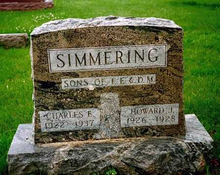SIMMERING, HOWARD J. - Washington County, Iowa | HOWARD J. SIMMERING