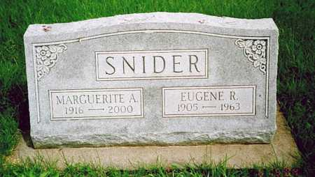 SNIDER, EUGENE R. - Washington County, Iowa | EUGENE R. SNIDER