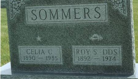 SOMMERS, ROY & CELIA C. - Washington County, Iowa | ROY & CELIA C. SOMMERS