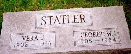 STATLER, GEORGE W. - Washington County, Iowa | GEORGE W. STATLER