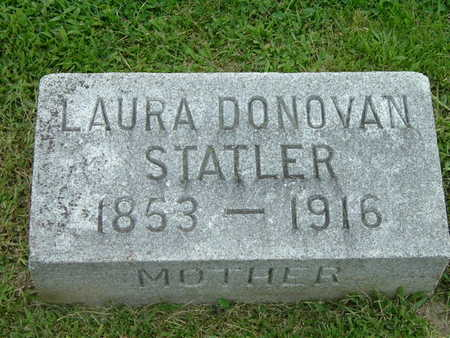 STATLER, LAURA DONOVAN - Washington County, Iowa | LAURA DONOVAN STATLER