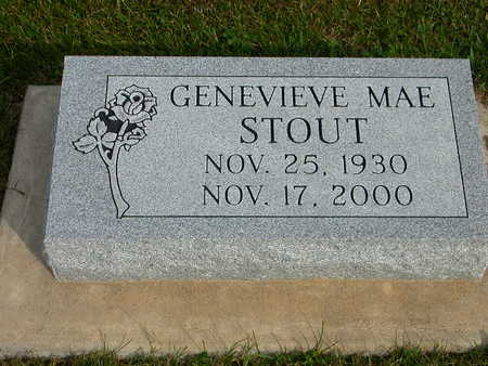 STOUT, GENEVIEVE MAE - Washington County, Iowa | GENEVIEVE MAE STOUT