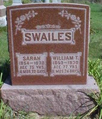 SWAILS, WILLIAM T. - Washington County, Iowa | WILLIAM T. SWAILS