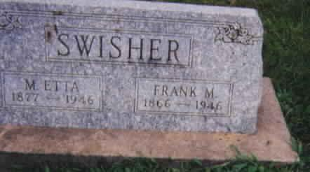 WHISLER SWISHER, MARY ETTA - Washington County, Iowa | MARY ETTA WHISLER SWISHER
