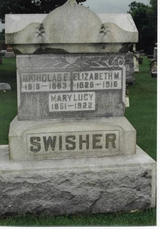SWISHER, NICHOLAS E. - Washington County, Iowa | NICHOLAS E. SWISHER