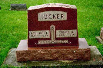 TUCKER, DONALD W. - Washington County, Iowa | DONALD W. TUCKER