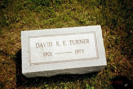 TURNER, DAVID R. E. - Washington County, Iowa | DAVID R. E. TURNER
