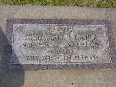TURNER, JOHN CHARLES - Washington County, Iowa | JOHN CHARLES TURNER