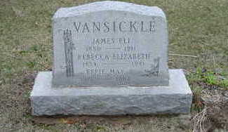 VANSICKLE, EFFIE MAY - Washington County, Iowa | EFFIE MAY VANSICKLE