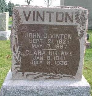 VINTON, CLARA - Washington County, Iowa | CLARA VINTON