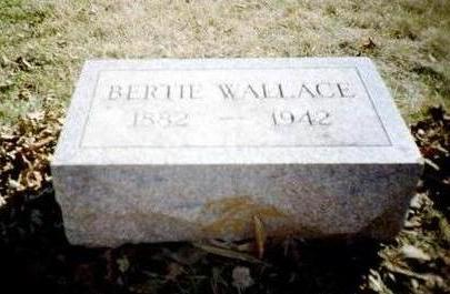 WALLACE, BERTIE - Washington County, Iowa | BERTIE WALLACE