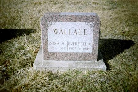 WALLACE, DORA M. - Washington County, Iowa | DORA M. WALLACE