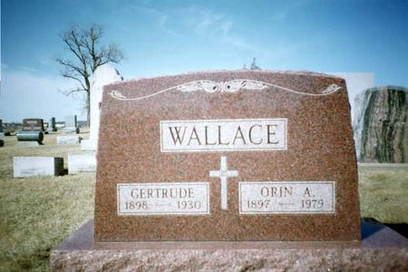 WALLACE, ORIN A. - Washington County, Iowa | ORIN A. WALLACE