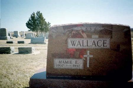 WALLACE, MAMIE E. - Washington County, Iowa | MAMIE E. WALLACE