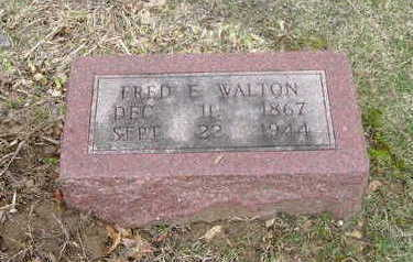 WALTON, FRED E. - Washington County, Iowa | FRED E. WALTON