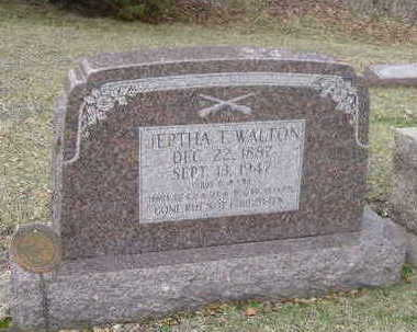 WALTON, JEPTHA T. - Washington County, Iowa | JEPTHA T. WALTON