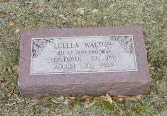 WALTON, LUELLA - Washington County, Iowa | LUELLA WALTON