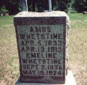 WHETSTINE, AMOS - Washington County, Iowa | AMOS WHETSTINE