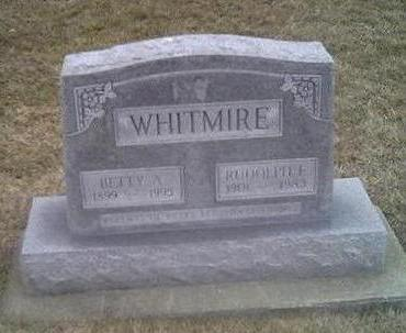 WHITMIRE, BETTY - Washington County, Iowa | BETTY WHITMIRE