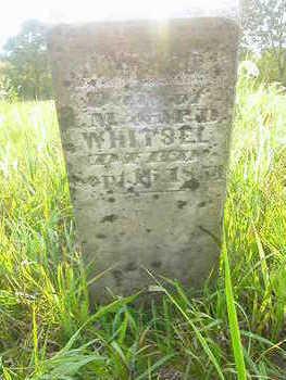 WHITSEL, INFANT DAU - Washington County, Iowa | INFANT DAU WHITSEL