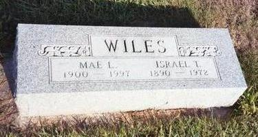WILES, ISRAEL T. - Washington County, Iowa | ISRAEL T. WILES