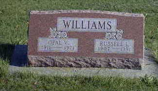 WILLIAMS, OPAL V. - Washington County, Iowa | OPAL V. WILLIAMS