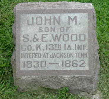 WOOD, JOHN - Washington County, Iowa | JOHN WOOD