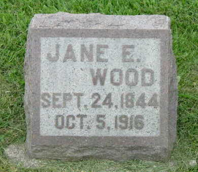 WOOD, JANE - Washington County, Iowa | JANE WOOD